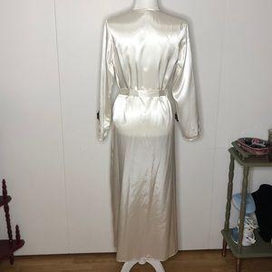 Flora Nikrooz Intimates & Sleepwear - Flora lace appliqué floor length robe